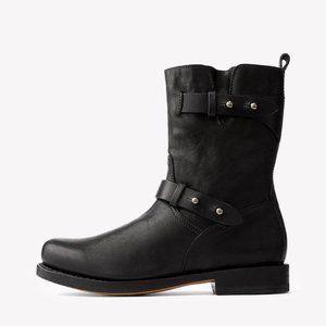 Rag & Bone Black Moto Boot